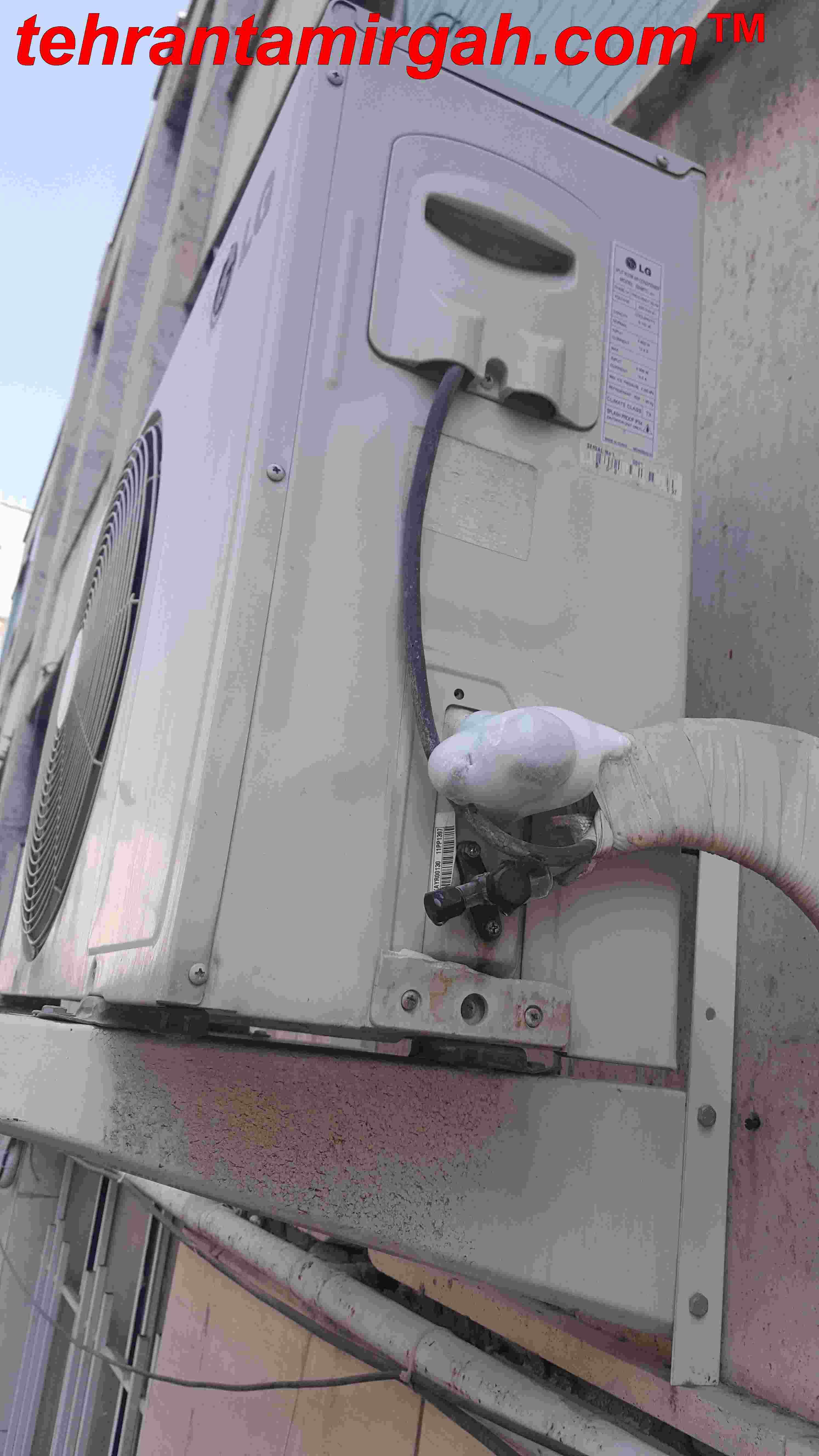 تعمیر کولر گازی شمال تهران | ۲۴ ساعته | با گارانتی | قیمت اتحادیه|  گاز هندی